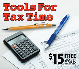 Tools for Tax Time